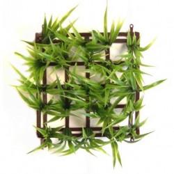 Planta plastico surtida boyu 15x15cm cesped