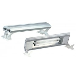 Pantalla plata+soportes t8 100cm 25wx2 s/tubo