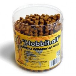 Hobbitalf barritas redonda pollo 1kg bote