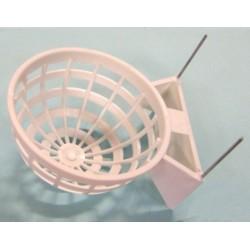 Nido plastico c/gancho metalico (x10)