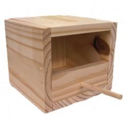 Nido madera isabelitas 16x15.5x14