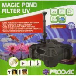 Prodac filtro int. estanq+uva 55w 2460l/h para 6000l 2.5h magicpond