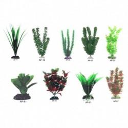 Planta plastico surtida boyu 10cm blister