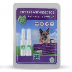 Menforsan pipeta anti-insectos natural perro