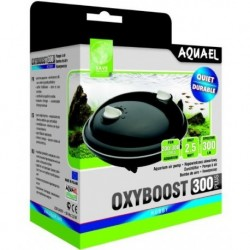 Aquael compresor oxyboost 300 plus  2x150l/h