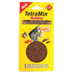Tetra holiday tarrina 30gr.