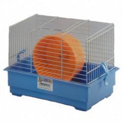 Jaula hamster 10 28x19x7.5cm+rueda