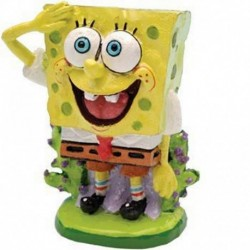 Decoracion mini bob esponja 5cm