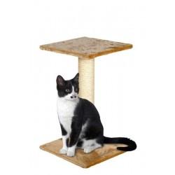 Poste gato+piso pq beige 29x29x40cm karlie