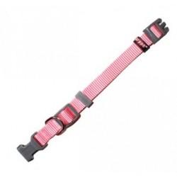 Collar nylon reg.rosa 1.0x15-25cm arppe