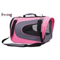 Transportin bolso life rosa 43cm freedog