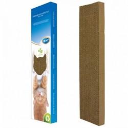 Rascador gato carton con estimulante 50x13x6cm