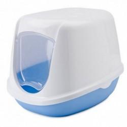 Gatera  44,5x35,5x32cm duchesse blanca-azul