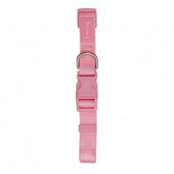 Collar nylon reg.rosa  20mm 35-60cm freedog