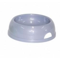 Comedero plastico redondo nº2 17cm 770ml gris