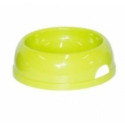 Comedero plastico redondo nº2 17cm 770ml verde