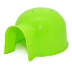 Casita hamster igloo pequeña 16cm verde duvo