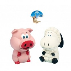 Juguete latex cerdo/oveja 11,5cm duvo