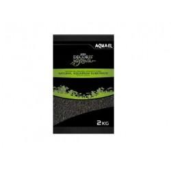 Grava fina negra basalto 2-4 mm  2kg aquael
