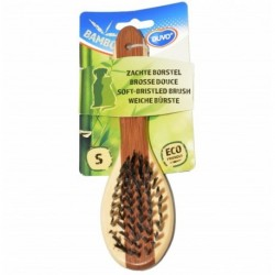Cepillo bambu cerdas nylon pequeño duvo