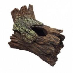 Tronco resina 14x8,5x9cm duvo