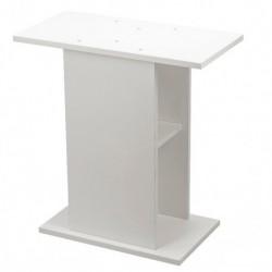 Mesa madera  61x31x72cm blanca aquael.