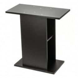 Mesa madera  76x36x72cm negra aquael
