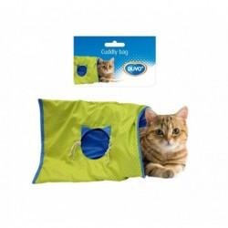 Saco para gatos azul/verde 50x38x0,5cm