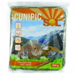 Cunipic heno con zanahoria 500gr