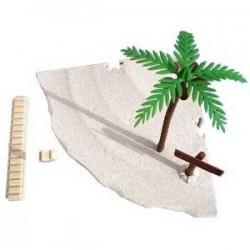Playa tortugas 20cm