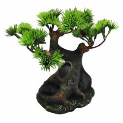 Decoracion bonsai pequeño 10.5x9.5x15.5cm Duvo