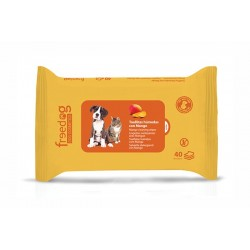 Toallitas higienicas 28x18cm (40) mango freedog
