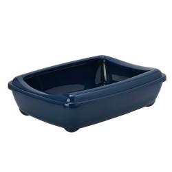 Bandeja 50x38x14cm+marco azul marino