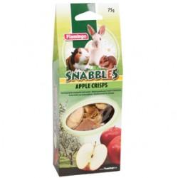 Snabbles apple crisps (rodajas manzana) 75g flamingo