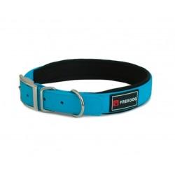 Collar ergo pvc azul 25x55cm freedog
