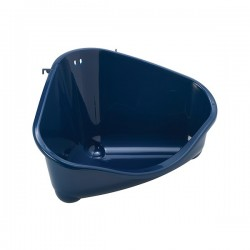 Toilet esquina roedor Moderna M azul 35x24x19cm