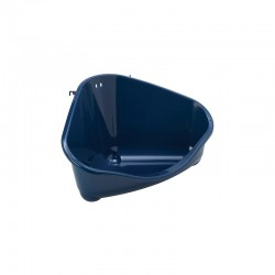 Toilet esquina roedor Moderna S azul 18x12x10cm