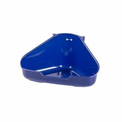 Toilet esquina roedor duvo S azul 16x12x8cm