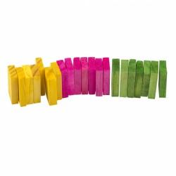 Madera para roer domino  (21 piezas)