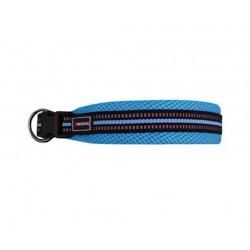 "Collar nylon soft 1.5x35/50cm s"" turquesa"""