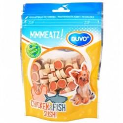 Golosina duvo pasta pollo y pescado 100g