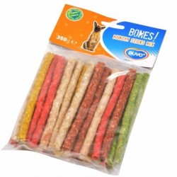 Munchy palillo mix colores 12,5cmx9-10mm(40)