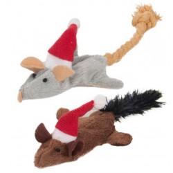 Navidad juguete raton crepitante (2)