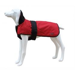 Impermeable abrigo thermo+ 65cm rojo