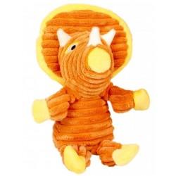 Peluche dino danny tripcerators naranja con pito 25cm