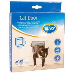 Puerta gato-perro int.14.6x15.4cm ext 19x19.7cm blanca ld