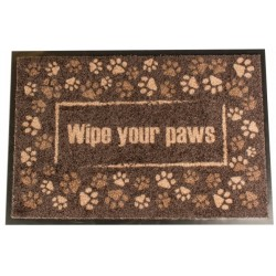 Felpudo indoor wipe your paws 60x40cm