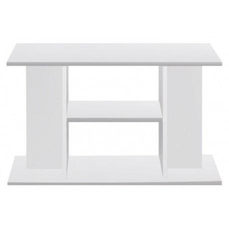 Mesa madera 80x35x60 blanca budget