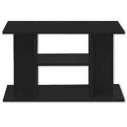 Mesa madera 60x30x60 negra budget
