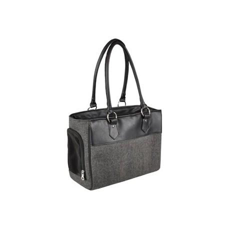 Transportin bolso Lior gris 45x19x29cm max 5kg
